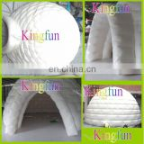 6M Commercial pvc tarpaulin white dome tent