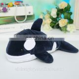 china manufacturer custom mini plush animal toy keychain dolphin pendant