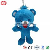 NESTLE blue bear plush adorable brand OEM kids stuffed toy