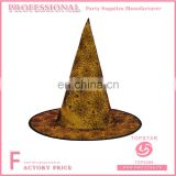 Buy halloween party favor witch hat spider web decorated full the conical hats