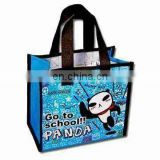 Nov-woven cute shopping bag for kids