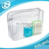 Zipper Clear Vinyl Bath Care Case