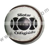 Sliotars hurling balls made of cowhide leather