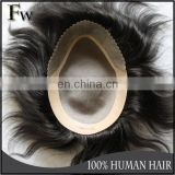 High quality resonable price natural toupee,best selling cheap toupee for men