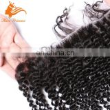wholesale large stock 7A quality human virgin hair 13*4 Brazilian virgin hair kinky curly lace frontal