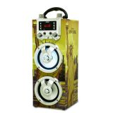 New Product Portable Wireless Karaoke BT Rechargeable  Speaker with Built-in  Microphone