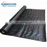 hot sale landscape black plastic weed control mat, PP ground cover for agriculture greenhouse