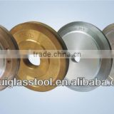 KRT round edge diamond glass grinding wheel