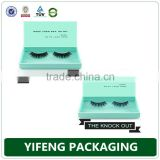 Guangzhou factory custom printing eyelash packaging, custom eyelash packaging, eyelash box wholesale