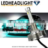 Waterproof top quality high power led headlight bulb h7 for full-size Boat and Tractor