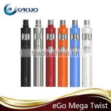 Contact Supplier Chat Now! 100% Original e cigarette Joyetech ego mega twist plus kit pen ecigs