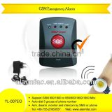 Cheap Elderly Guard GSM medical alarm system with Big SOS button --YL-007EG