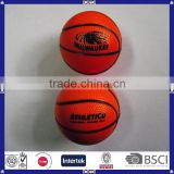 pu material sports ball basketball shape stress ball