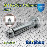 BS2Z16 Steel construction fastener fix bolt Grade 8.8 high strength