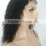 fashionable silk top curly full lace wig wholesale price with large stock for fast delivery