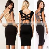wholesale clothing walson 2016 latest women dresses sexy package hip dress euramerican fashion