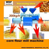 WDF 300kg Multifunctional corn flour mill machine,corn mill                                                                         Quality Choice
