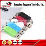 Universal Card Reader Mobile phone PC Card Reader 2.0 USB OTG Card Reader TF/SD Flash Memory Card Reader
