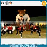Giant InflatableI bear mascot Tunnel/inflatable sport entrance tunnel /inflatable cartoon baseball,football tunnel