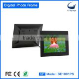 "10"" digital photo frame BE1001PS electronic photo frame"