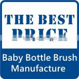 Colorful design baby bottle brush tangle free hair brush hair brush