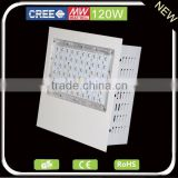 Super bright Cree industrial led lighting Good Quality IP65 120W ul gas station canopy led lights