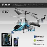 Wholes sale hot selling bluetooth 4 channel helicopter avatar design work with iPod/iPhone/iPad and android phone and tablet