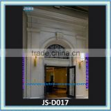Large marble door surround white