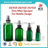 Factory sale new design colorful plastic water mist sprayer cosmetic mist sprayer for promotion with good quality