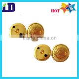 military Gold brass button to malaysia