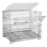 Wire mesh container/pallet cage