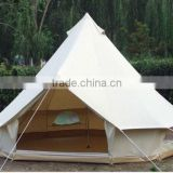 5+ person high quality cotton canvas bell tent