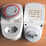 TSW-A09 24 hours changeable socket timer plug socket timer mechanical programmable socket timer