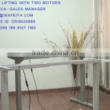 Two legs electric office desk manufacture in Wuxi JDR                                                                         Quality Choice                                                     Most Popular