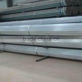 Galvanized steel Pipe factory/Galvanized welded pipe price/galvanized hot rolled pipe in stock