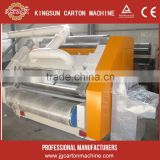 2 ply single face flute paperboard forming equipment/carton box packaging machine