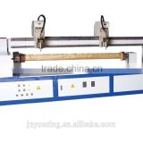 Manufacturer supply Cylindrical wood engraving machine/rotary cnc router engraving machine on cylinder