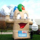 2012 hot sale inflatable phone figure