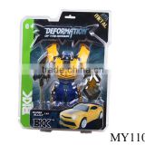 "top quality metal transforming robot toys ""Bumblebee transforming "" Deformation Car toys"
