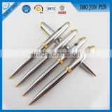 Wholesale Shiny Silver Promotional Metal Ballpoint Pen With Logo Printing China Supplier