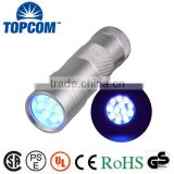 Mini Portable Torch 12 Led Black Light UV Flashlight Urine Detector