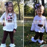 wholesale baby girl rugby cartoon long sleeve sport boutique clothing