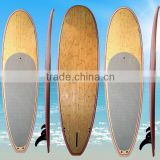 2016 cheap nsp new design inflatable carbon wooden bamboo epoxy stand up paddle board wholesale