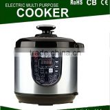 Baby Food Design Automatic Pressure Cooker 7l Stainless Steel
