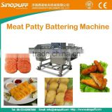 meat Beef Pie Battering Machine/High Quality Burgers Patty Machine/Automatic Meat Patty Battering Machine