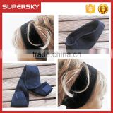 A-133 fleece head wrap head warmer polar fleece ear covering earwarmers fleece ear band earmuffs