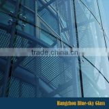 BL China manufacturer exterior building glass wall with competitive price