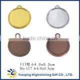 117# Cheap gold silver bronze sports factory directly sale metal medallion craft badge award blank medal