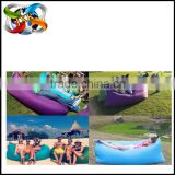 New Hot sleeping bag inflatable/ hangout bag/Air hangout sofa bed With More Extra Functions