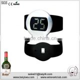 LCD Display Digital Stainless Steel Wine Thermometer For Bottle                                                                         Quality Choice
